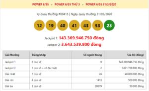 """Trước ngày tạm ngừng hoạt động Power 6/55 lại tiếp tục """"nổ"""" Jackpot 2"""